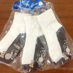 ถุงเท้านักเรียนมีกันลื่น - ลาย Mickey Mouse Size 5-7 แพ็ค 3 คู่