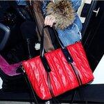Pre-Oder กระเป๋าแฟชั่น Maomaobag สี แดงแบบสะพาย พร้อมสายยาว สวยมากค่ะ