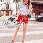 Red sakura set Odee&Cutie Daily Fashion 2014