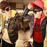 PRE-ORDER เสื้อกันหนาวแฟชั่นแบบใหม่ เสื้อแจ็คเก็ตกันหนาว คลุมหนานุ่มอบอุ่นออกแบบเรียบทันสมัย