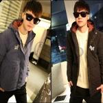 PRE-ORDER เสื้อกันหนาวแฟชั่นแบบใหม่ เสื้อแจ็คเก็ตกันหนาว(มีฮู้ด)หนานุ่มอบอุ่นออกแบบเรียบการ์ตูนน่ารัก