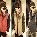 PRE-ORDER เสื้อกันหนาวแฟชั่นใหม่ 2014 เสื้อกันหนาว (มีฮู้ด) ผ้าฝ้ายลูกฟูกหนากันหนาวอบอุ่น