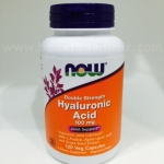 Now Foods, Hyaluronic Acid, Double Strength, 100 mg, 120 Veggie Caps